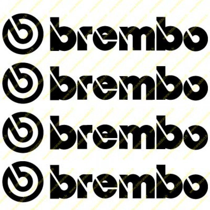 Stickers Brembo 1