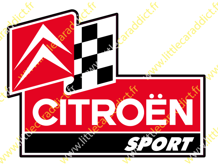 "Stickers ""Citroën sport"""