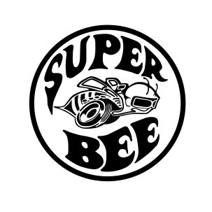 "Stickers ""Dodge super bee"""