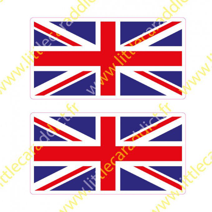 Stickers drapeaux UK