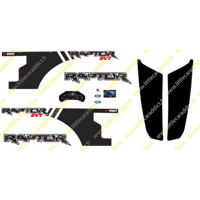 "Stickers ""RC ford raptor racer"""
