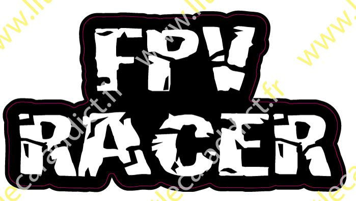 Stickers FPV racer 1