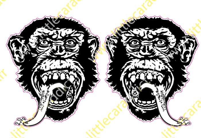 Stickers GasMonkey 4  ( grandes tailles )