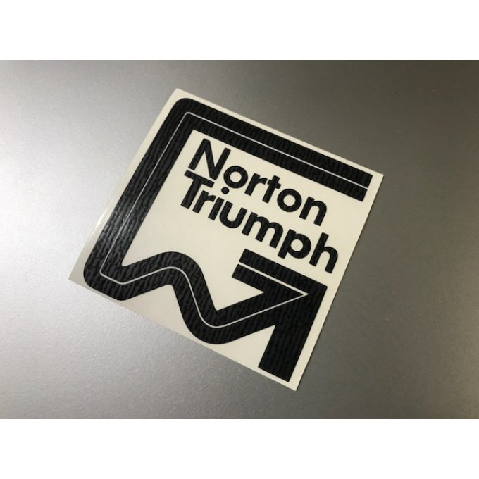 "Stickers ""Norton Triumph"""
