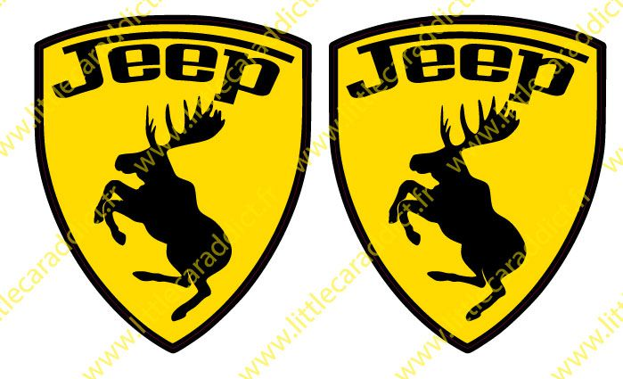 "Stickers ""jeep mountain"""