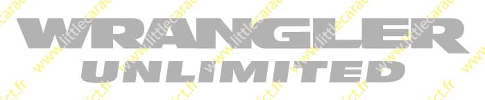 Stickers jeep wrangler unlimited 1
