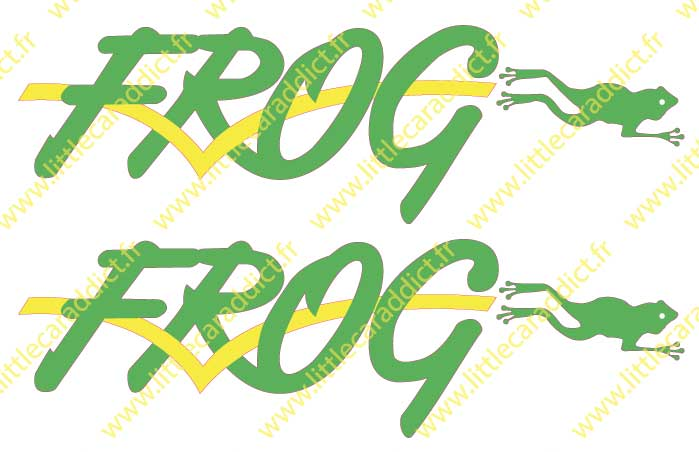 Stickers FROG