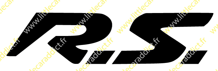 "Stickers ""RS 1"""