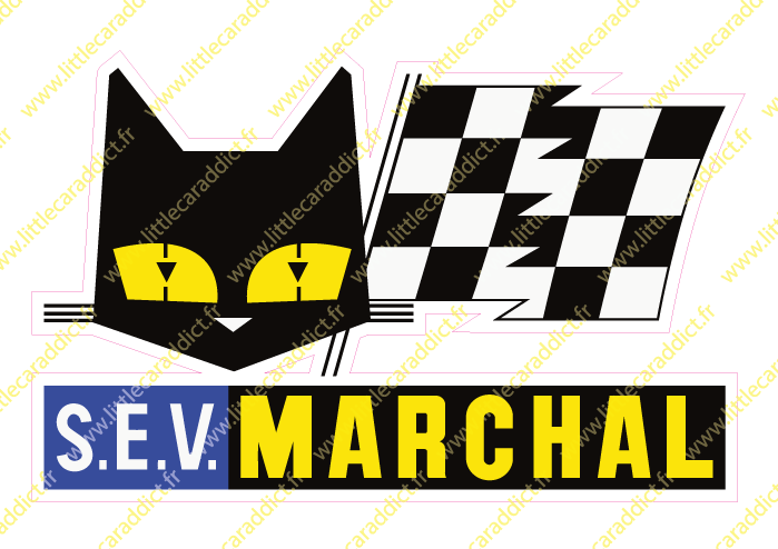 "Stickers ""Marchal 1"""