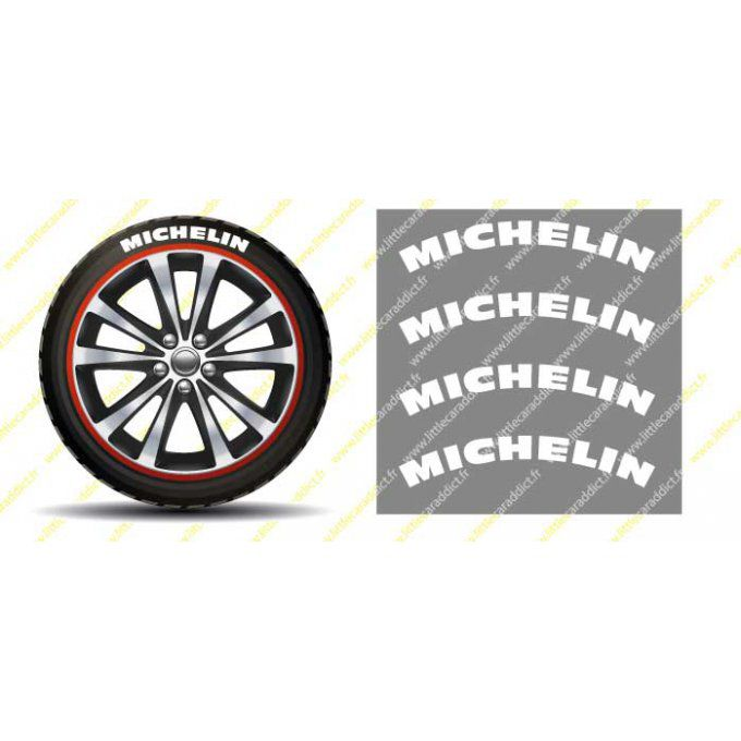 WrapTIRE Michelin white