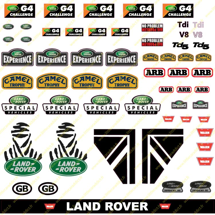 "Stickers "" Land 1 """