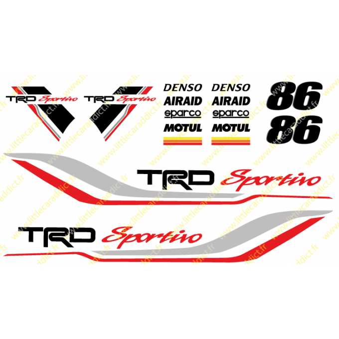 Stickers TRD Sportivo