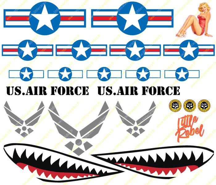"Stickers ""AIR FORCE 1 """