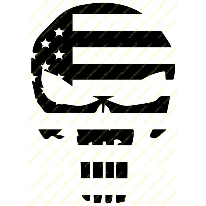 "Stickers ""Punisher US """
