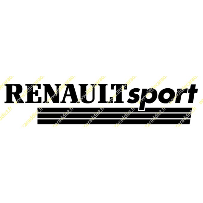 "Stickers ""Renault sport 2"""