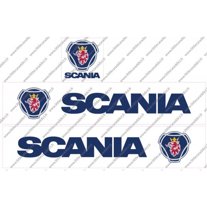 "Stickers  ""Remorque Scania 1"""