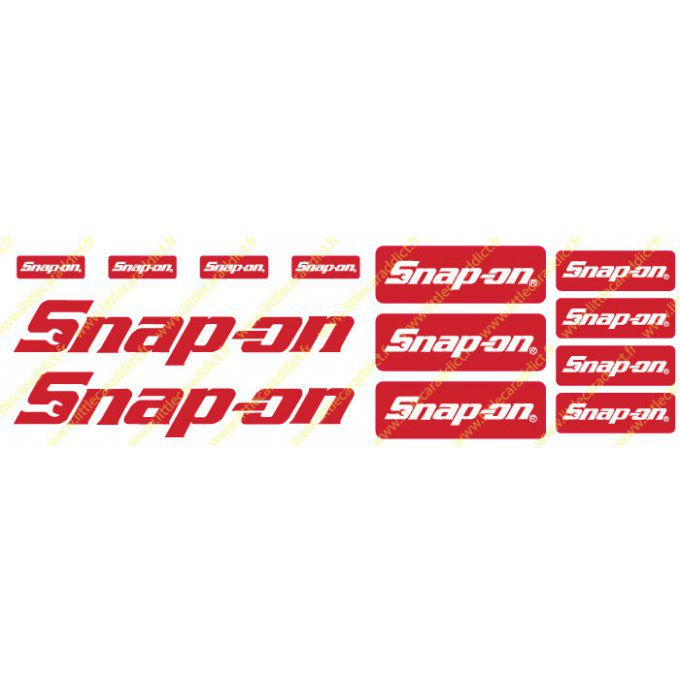 Planche sponsor Snap-on