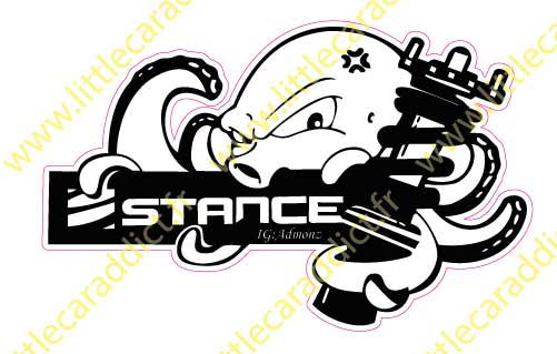 Stickers stance 1