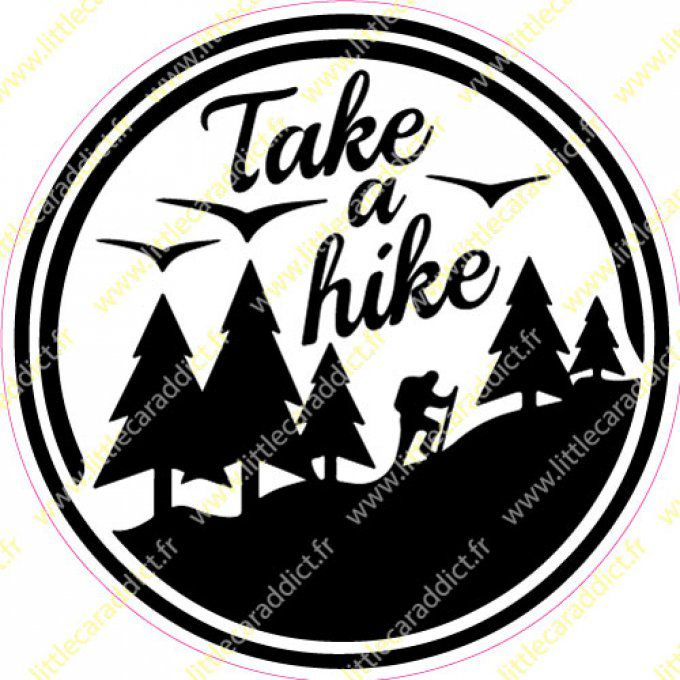 Stickers Take a hike 1