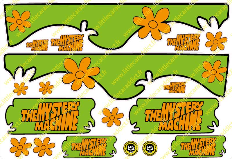 Planche the mystery machine