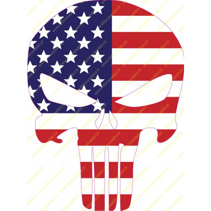 "Stickers ""Punisher US color 60mm"""
