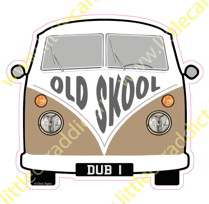 "Stickers ""Combi old skool"""