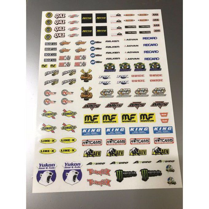 "Stickers ""RC Ultra4 """