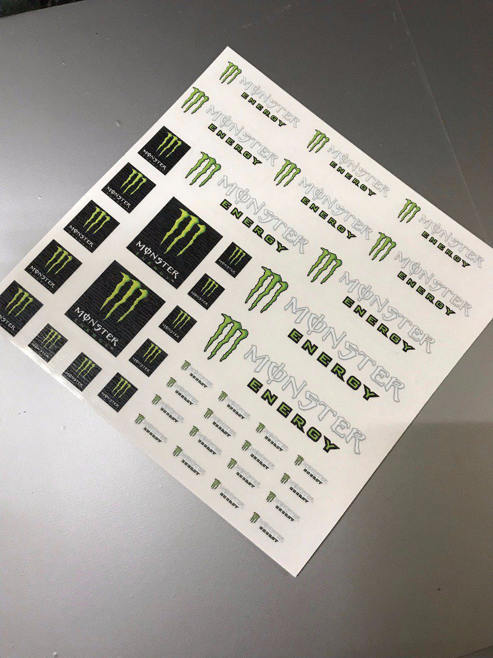 "Stickers ""planche monster 1 """