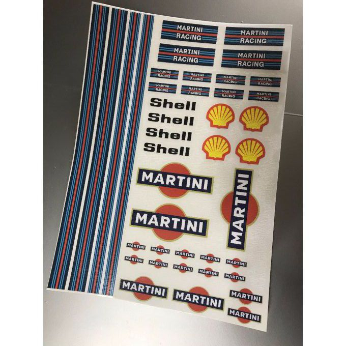 "Stickers ""Martini 1 """